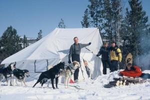 Dog Sled Camping Trip