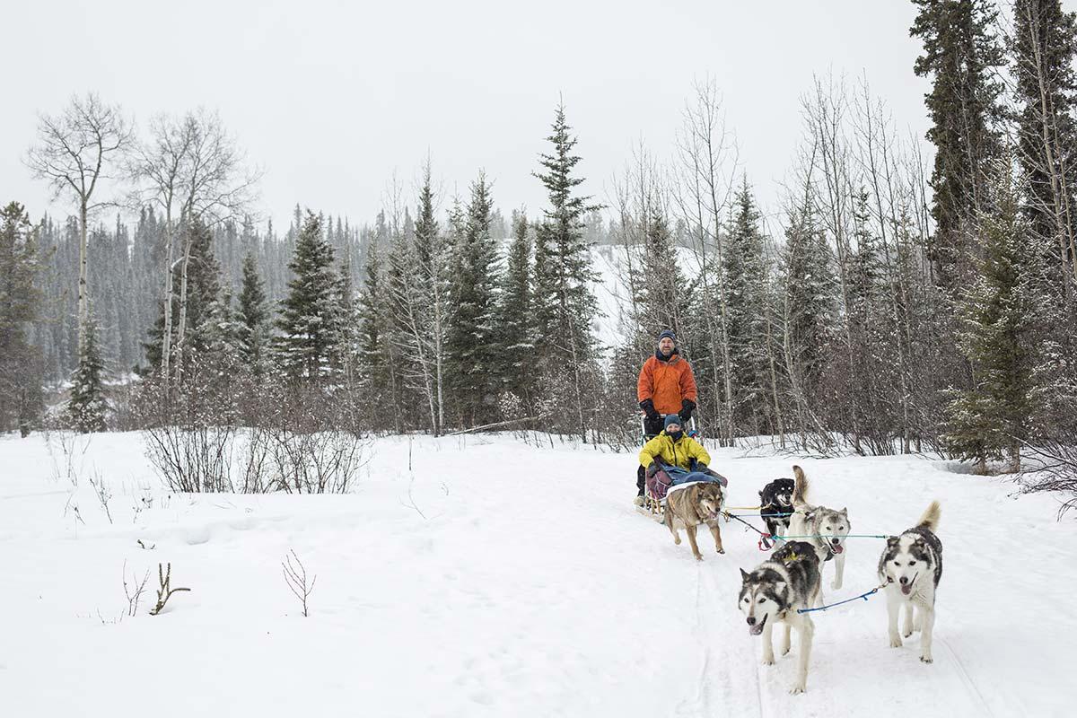 Yukon Dog Sledding - Winter Camping - Yukon Winter Adventures